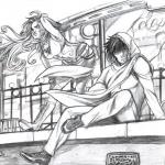 Gwen e Xavier by Diana Mercolini