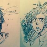 Xavier e Gwen by Milena Ciccarello